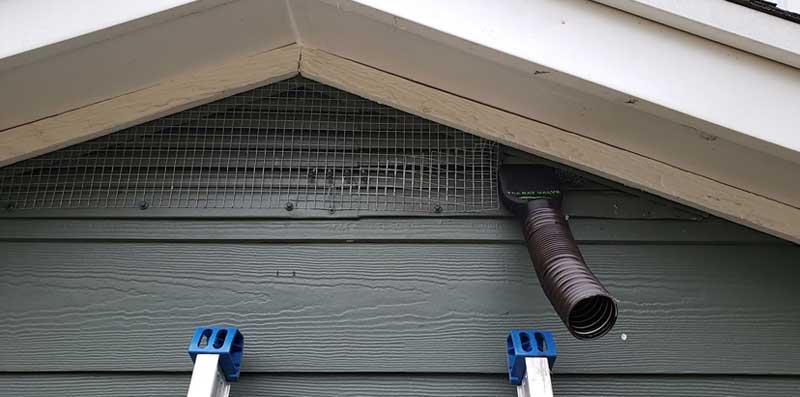 The bat valve TBV-SG3 at  Huron Bat Removal